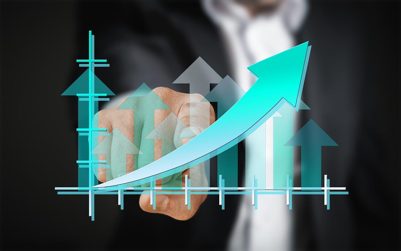Crecimiento de empresas que invierten en tecnología